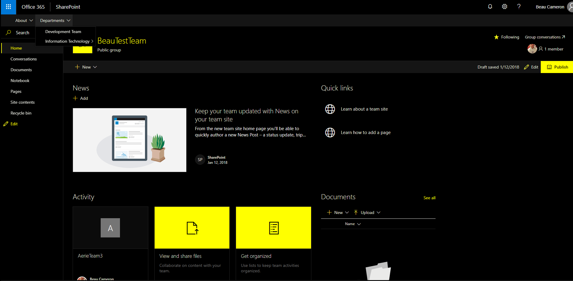 How To Create Modern Sharepoint Site Templates Using Office 365 Site Designs Beau Cameron,Design West Architects