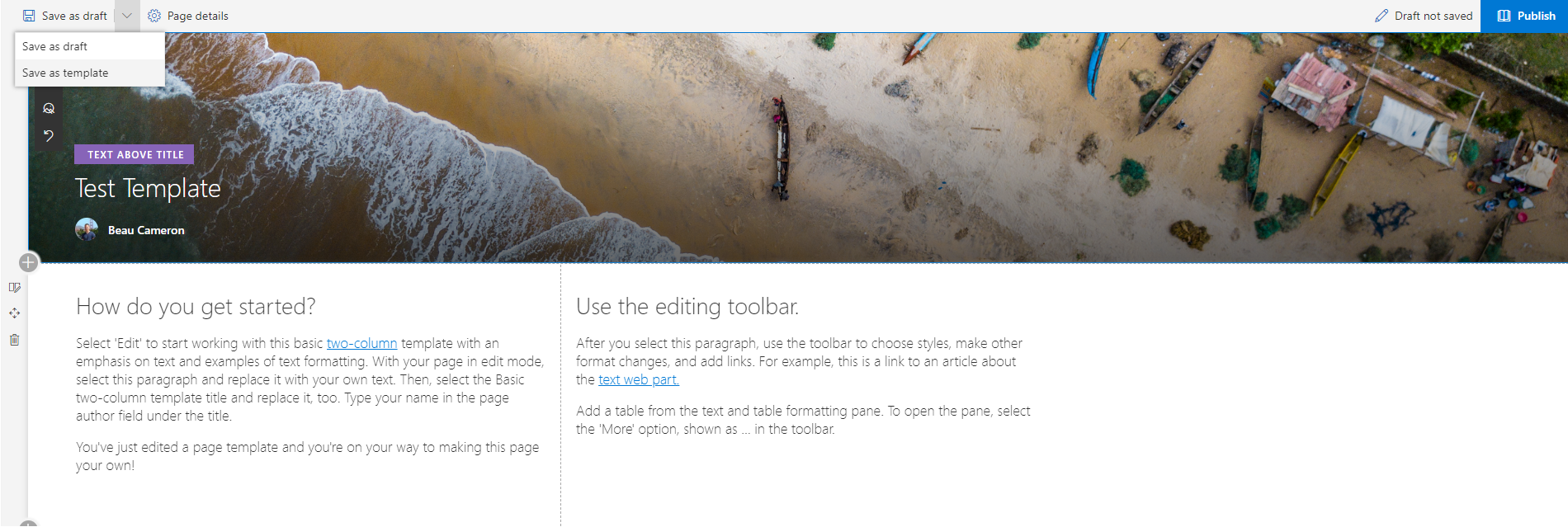 Exploring Modern page templates in SharePoint Online with REST
